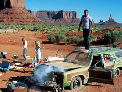 "Some of the ""best"" movie memories I have are road trip movies : Vacation,"