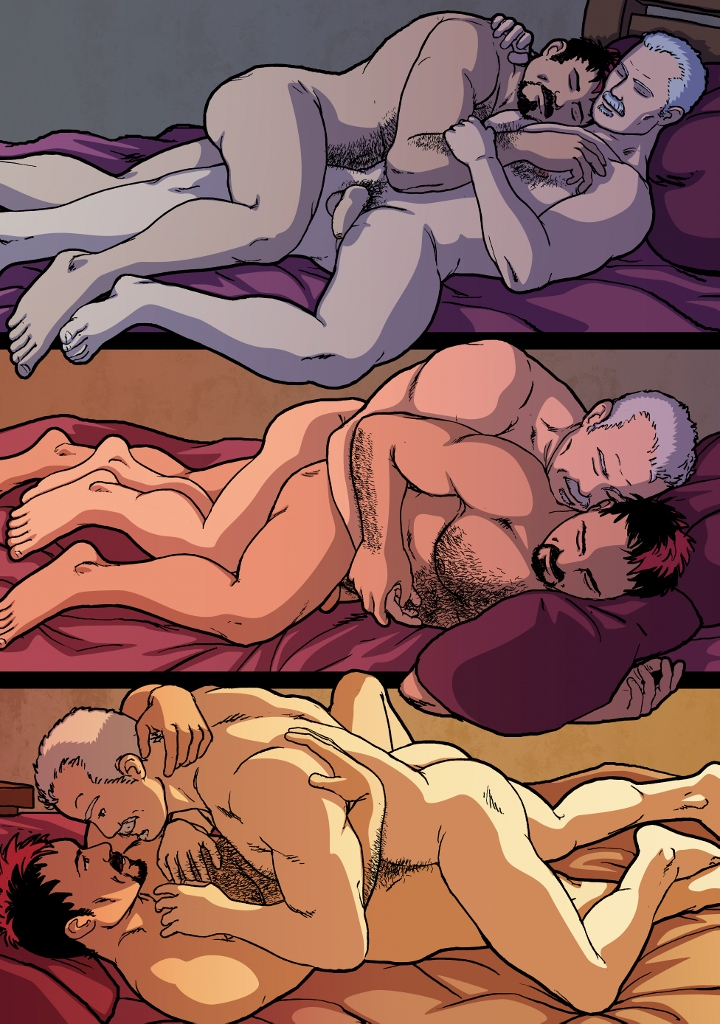 Proof is in my pup tent; Dale Lazarovs: Gay erotica comics | Accidental Bear